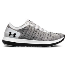 Under Armour Slingride 2 Womens Casual Shoes White / Black US 6, White / Black, rebel_hi-res