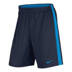 Nike Mens Dry Academy Football Shorts Blue S, Blue, rebel_hi-res