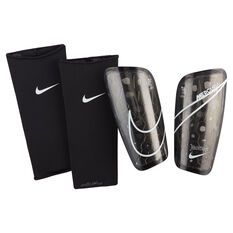 Nike Mercurial Lite Shin Guards Black / White S, Black / White, rebel_hi-res
