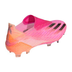 adidas X Ghosted + Football Boots, Pink, rebel_hi-res