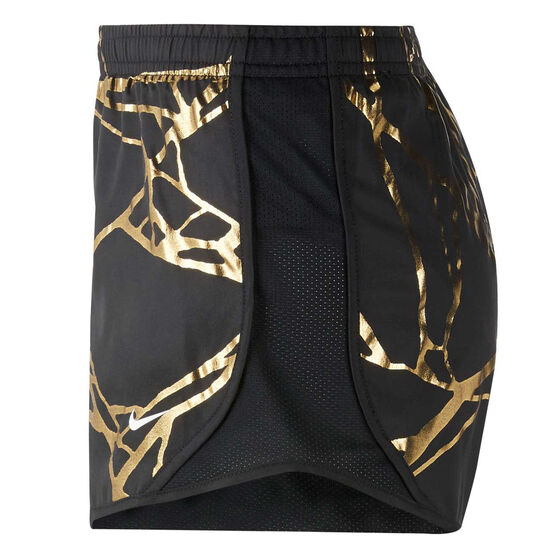 Nike Girls Dri-FIT Tempo Running Shorts, Black, rebel_hi-res