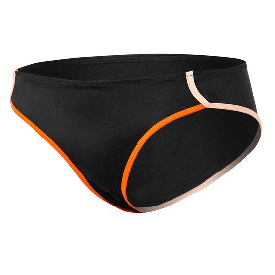 Roxy Womens Fitness Bikini Swim Bottom, Black, rebel_hi-res