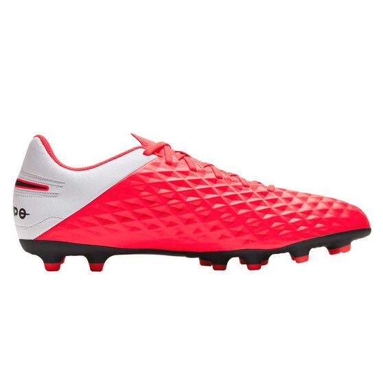 Nike Tiempo Legend VIII Club Football Boots, Black / Red, rebel_hi-res