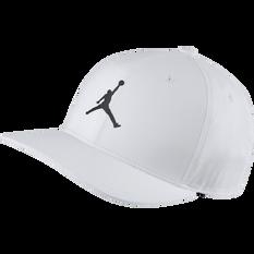 Nike Mens Jordan Classic99 Snapback Hat White, White, rebel_hi-res