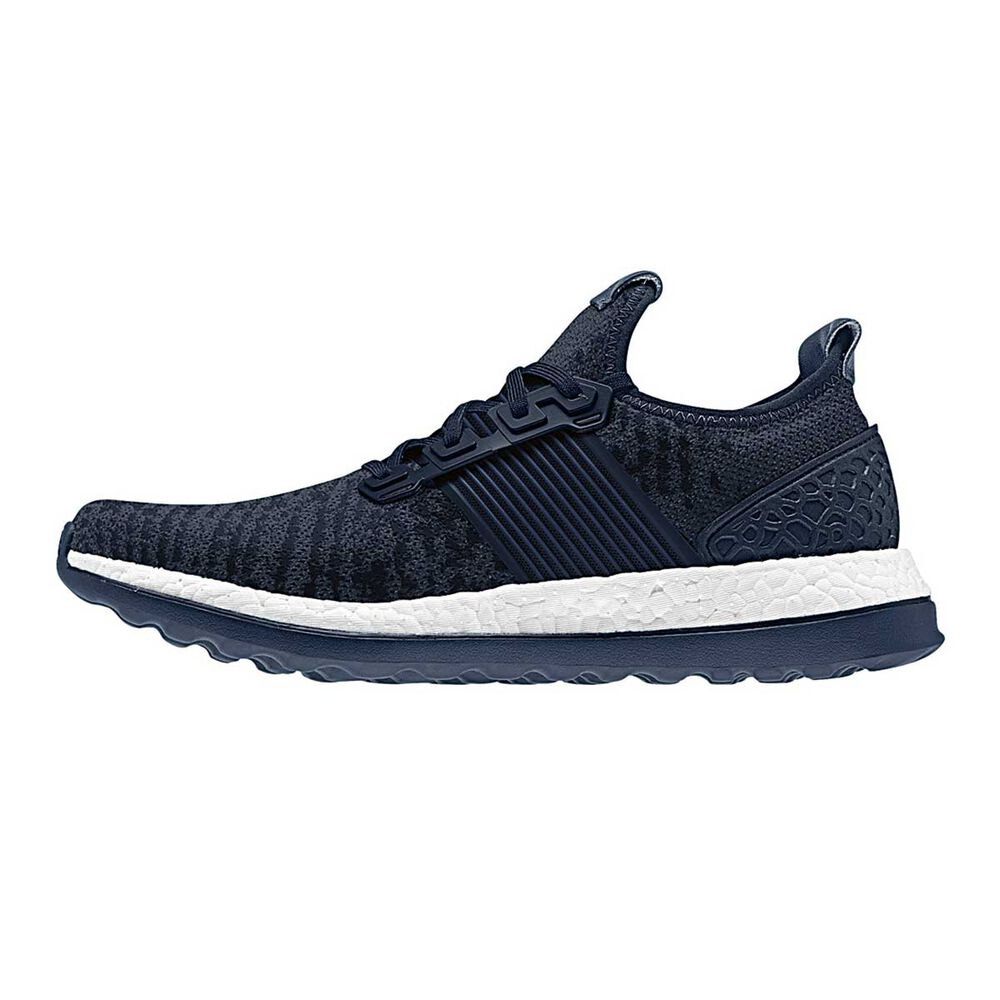 f82a302c87379 adidas Pureboost ZG Mens Running Shoes Navy   White US 7