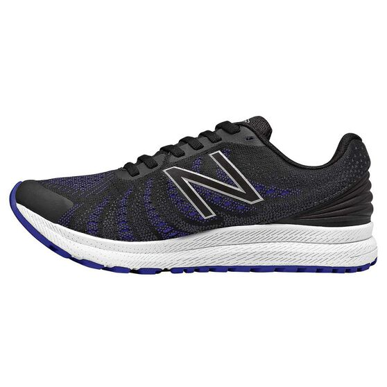 New Balance FuelCore Rush v3 Womens Running Shoes, Black / Blue, rebel_hi-res