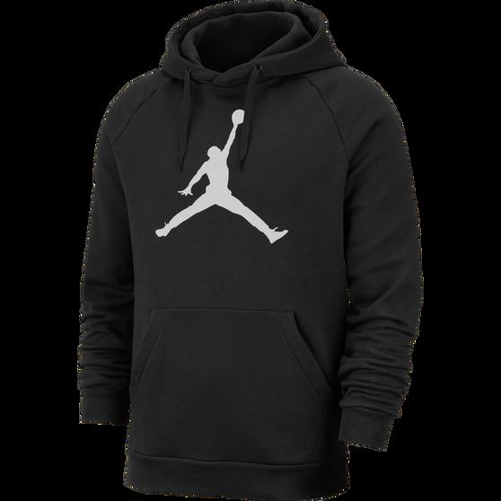 cheaper 2e202 b120b Nike Mens Jordan Jumpman Logo Fleece Pullover Hoodie