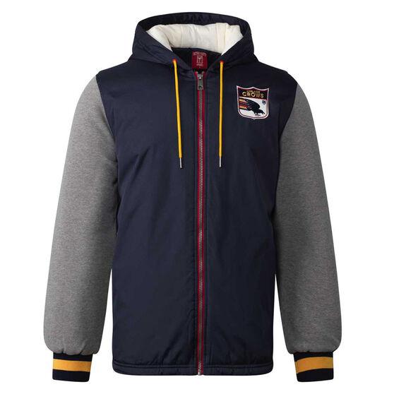 Adelaide Crows Mens Sideline Jacket, Blue, rebel_hi-res