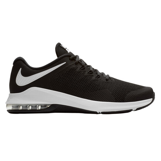 more photos 29798 7b21e Nike Air Max Alpha Trainer Mens Training Shoes, Black  White, rebelhi-res