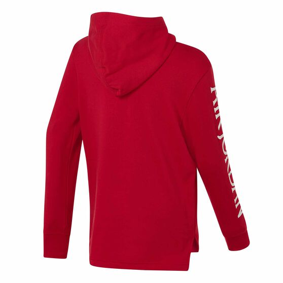 Nike Jordan Jumpman Classics Hoodie, Red / Black, rebel_hi-res