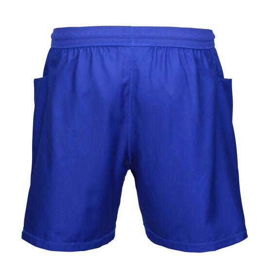 Canterbury-Bankstown Bulldogs 2019 Mens Training Shorts, Blue, rebel_hi-res