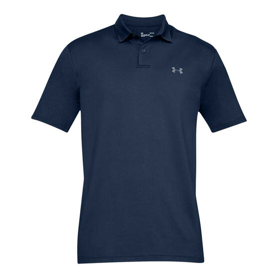 Under Armour Mens Performance Polo 2.0, Navy, rebel_hi-res