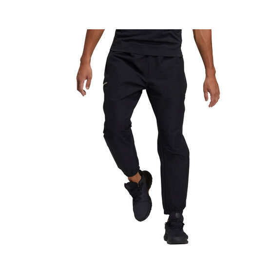 adidas Mens TH Woven ID Pants Black S, Black, rebel_hi-res
