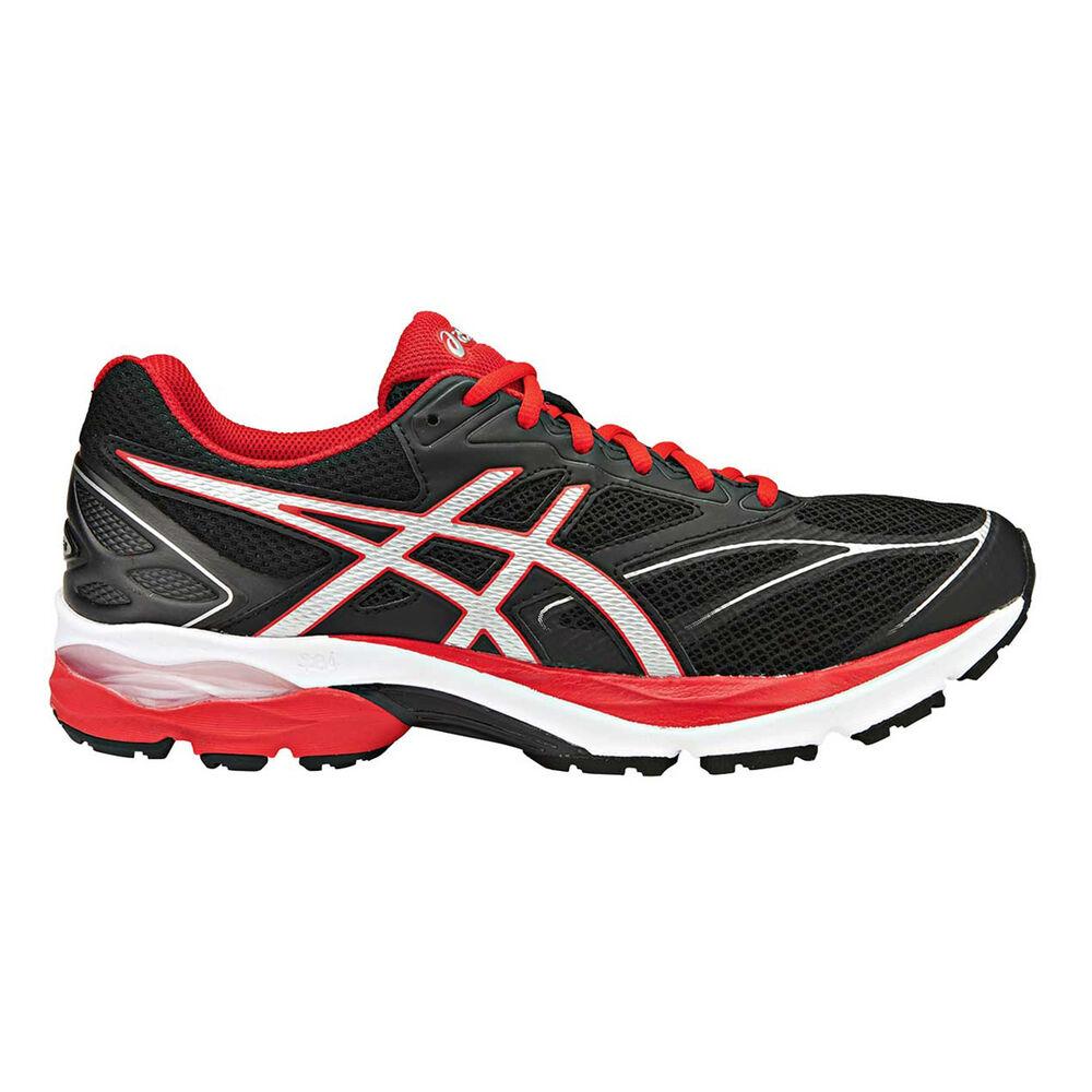 5ef2320cd69 Asics Gel Pulse 8 Mens Running Shoes Black   Silver US 10