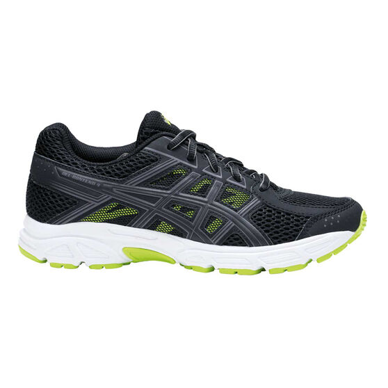 Asics Gel Contend 4 Boys Running Shoes Black   Green US 2  a61c63a054