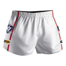Cougar Sportswear V.C.F.L Training Shorts White L, White, rebel_hi-res