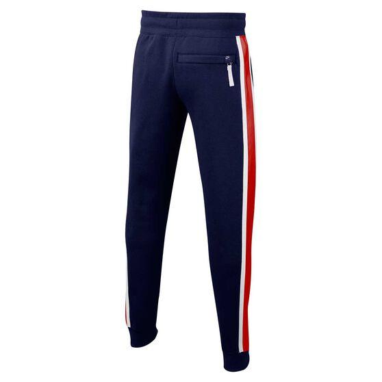 Nike Air Boys Pants Blue / White XS, Blue / White, rebel_hi-res