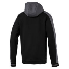 Puma Mens Collective Knitted Hoodie Grey S, Grey, rebel_hi-res
