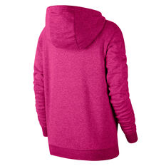 Nike Womens Sportswear Essential Funnel Neck Hoodie Pink XS, Pink, rebel_hi-res