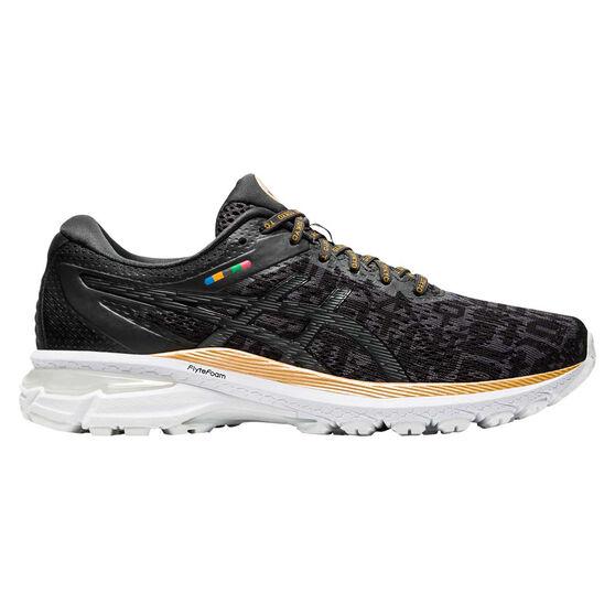 Asics GT 2000 8 EDO Era Mens Running Shoes, Black/Grey, rebel_hi-res