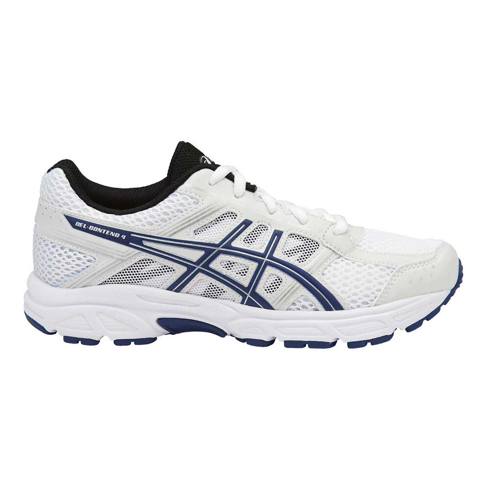 bb08e1176ee1 Asics Gel Contend 4 Boys Running Shoes White   Black US 2