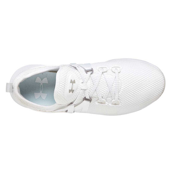 Under Armour Breathe Trainer Womens Training Shoes, White, rebel_hi-res