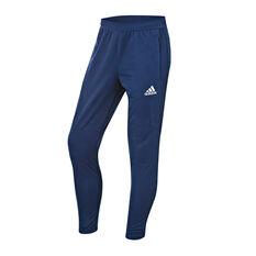 adidas Mens Tiro 17 Training Pants Blue / White M, Blue / White, rebel_hi-res