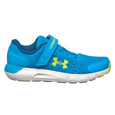 Under Armour Rogue 2 Kids Running Shoes Blue US 11, Blue, rebel_hi-res