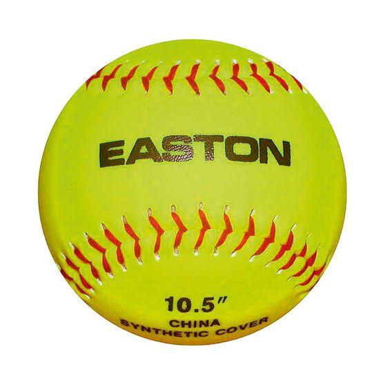 Easton 10.5in STB Neon Soft Training Softball Ball Fluro Yellow, , rebel_hi-res