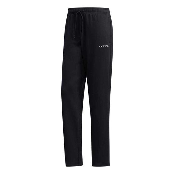 adidas Mens Essentials Feelcozy Track Pants, Black, rebel_hi-res