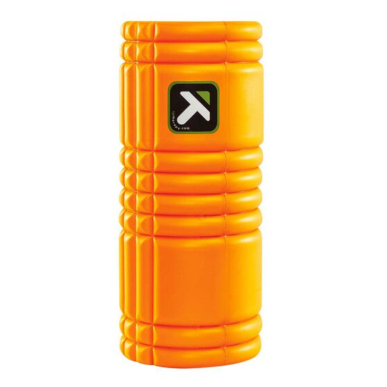 Trigger Point Grid Foam Roller Orange 33cm, Orange, rebel_hi-res