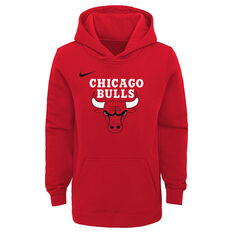 a0c730026a4 Nike Youth Chicago Bulls Hoodie Red S, Red, rebel_hi-res ...