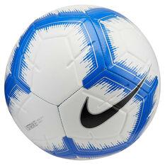 Nike Strike Soccer Ball White / Blue 3, , rebel_hi-res