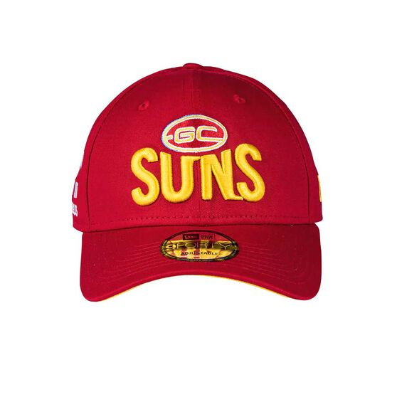 Gold Coast Suns 2018 New Era 9Forty Media Cap OSFA, , rebel_hi-res