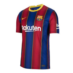 FC Barcelona 2020/21 Mens Home Jersey Blue / Red S, , rebel_hi-res