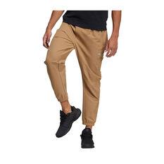adidas Mens TH Woven ID Trackpants Beige S, Beige, rebel_hi-res