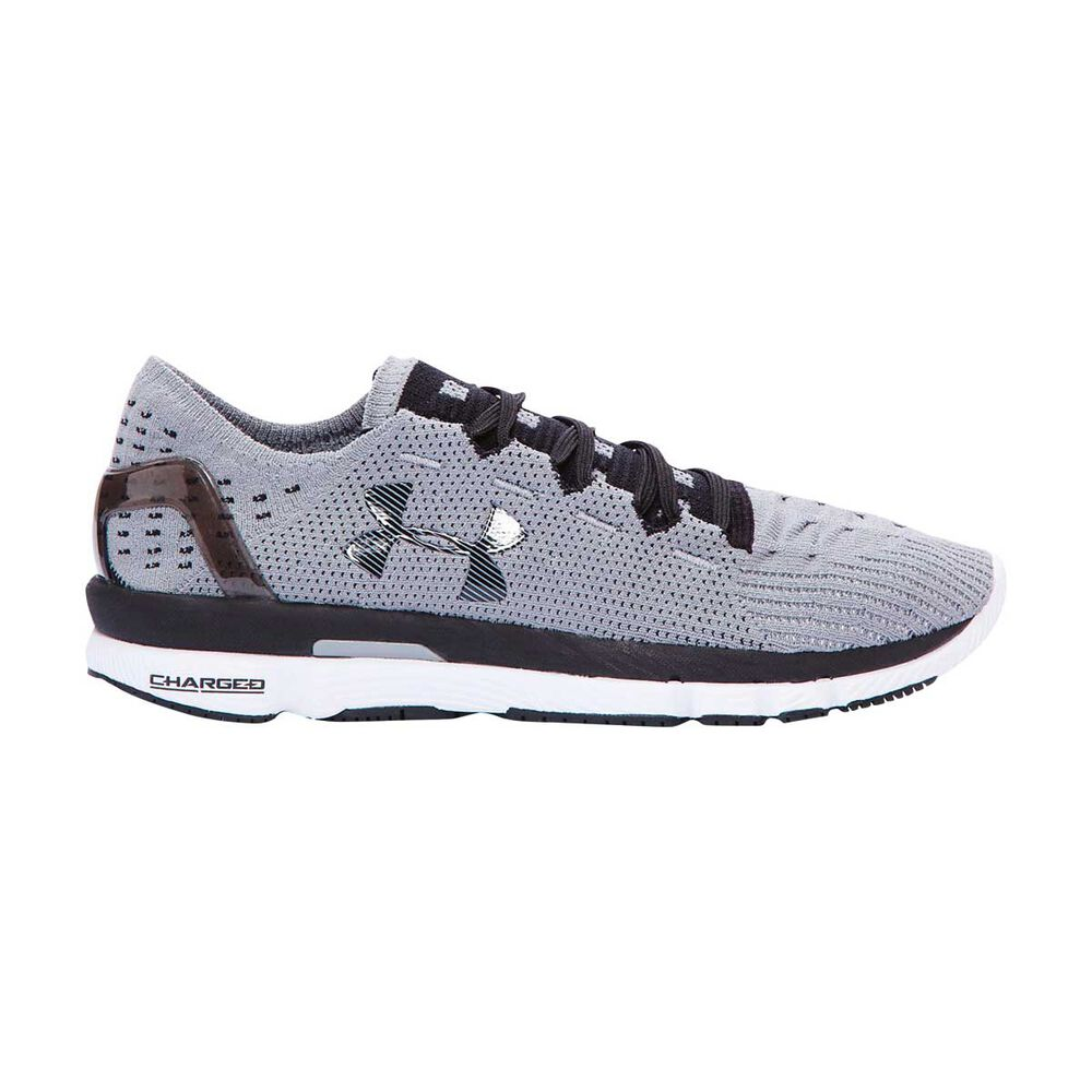 Under Armour Speedform Slingshot Womens Running Shoes Grey   Black US 8 93bfe26a81