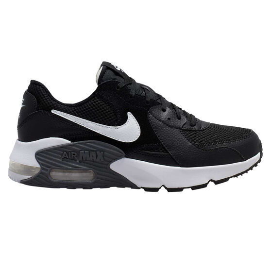 Nike Air Max Excee Womens Casual Shoes, Black / White, rebel_hi-res