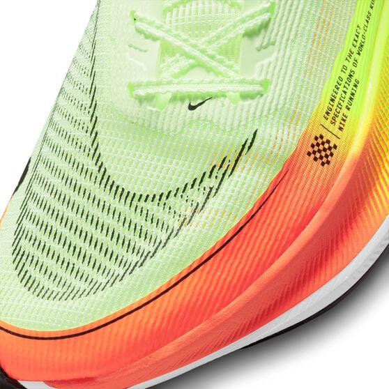 Nike ZoomX Vaporfly Next% 2 Mens Running Shoes, Volt/Black, rebel_hi-res