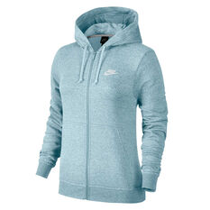 Nike Womens Sportswear Fleece Hoodie Topaz XS, Topaz, rebel_hi-res