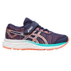 Asics GEL Excite 6 Kids Running Shoes Purple / Pink US 11, Purple / Pink, rebel_hi-res