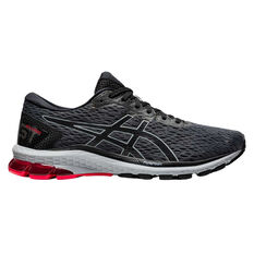 Asics GT 1000 9 Mens Running Shoes Grey/Black US 7, Grey/Black, rebel_hi-res