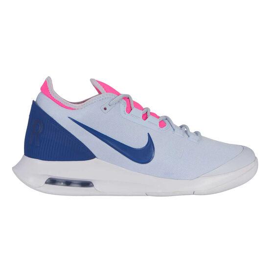 Nike Air Max Wildcard Hardcourt Womens Tennis Shoes, Blue / Pink, rebel_hi-res