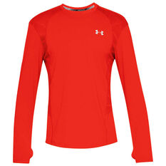 Under Armour Mens Swyft Tee Red S, Red, rebel_hi-res