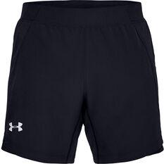 Under Armour Mens Qualifier Speedpocket 7in Running Shorts Blue S, Blue, rebel_hi-res