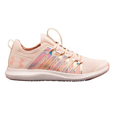 Under Armour Infinity Kids Running Shoes Pink US 11, , rebel_hi-res