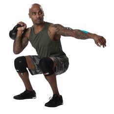 RockTape Assassin Knee Sleeves Black S, Black, rebel_hi-res