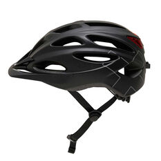 Goldcross Ultralight Bike Helmet Black M, Black, rebel_hi-res