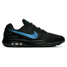 Nike Air Max Oketo Mens Casual Shoes Black / Blue US 7, Black / Blue, rebel_hi-res