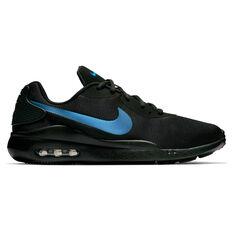 8dfe64cd51fb2c Nike Air Max Oketo Mens Casual Shoes Black   Blue US 7